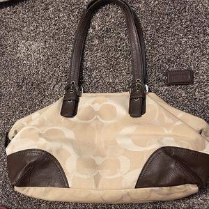 NWOT Gorgeous Coach purse